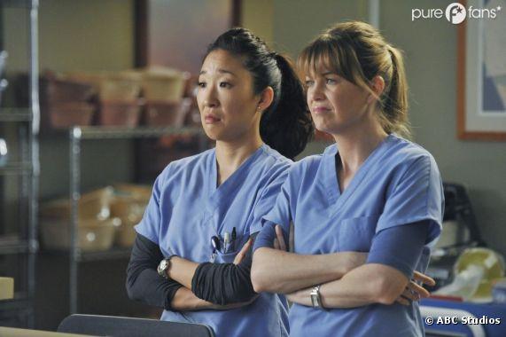 Meredith et Cristina en mode prof dans la saison 9 de Grey's Anatomy