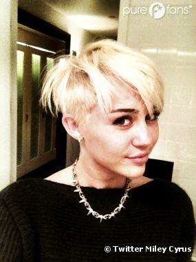Et encore une photo buzz pour Miley Cyrus !