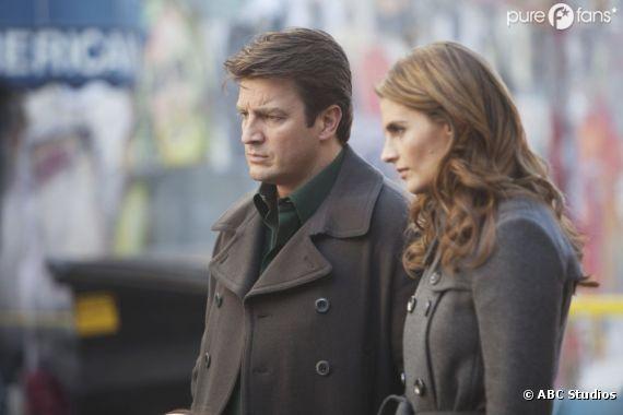 Ca chauffe pour Castle et Beckett dans la saison 5 !
