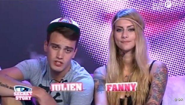 Julien est Fanny ont eu un coup de foutre dans Secret Story 6