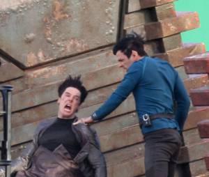 Benedict Cumberbatch s'entraîne à être méchant sur le tournage de Star Trek 2