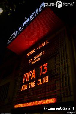 Soirée de folie à l'Olympia pour la sortie de FIFA 13