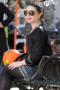 Princesse Georgina sur le tournage de la saison 6 de Gossip Girl !