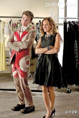 Kurt fait son entrée chez Vogue dans l'épisode 3 de la saison 4 de Glee