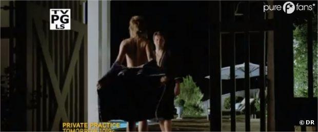 Bain de minuit sexy dans l'épisode 4 de la saison 5 de Castle !