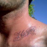 David Beckam : Son fils de 10 ans déjà tatoué !