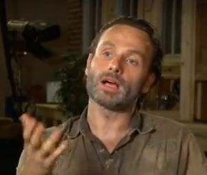 Interview d'Andrew Lincoln pour Inside EW