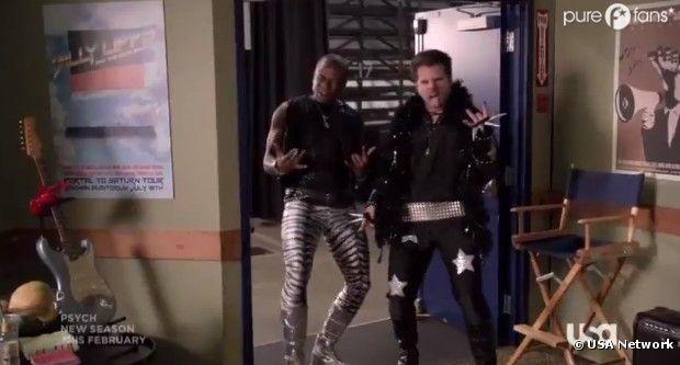 Nouveaux déguisements pour Shawn et Gus