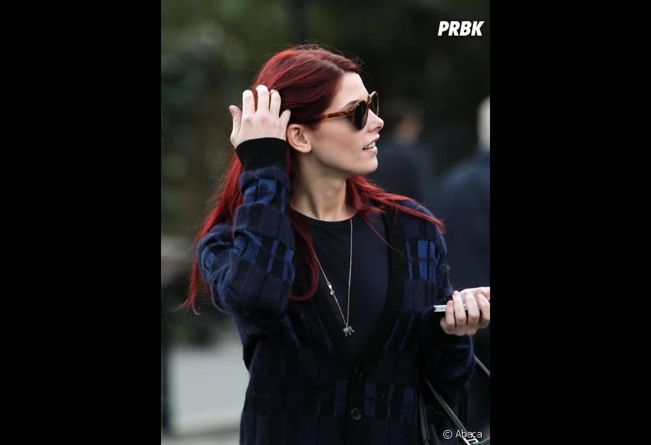Ashley Greene opte pour un look plus rock'n'roll