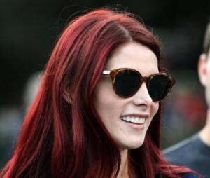 Ashley Greene se transforme en rousse flamboyante