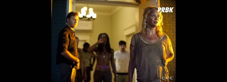 Quelque chose semble intriguer Andrea et inquiéter Michonne