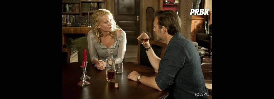 Andrea passe beaucoup de temps avec le Gouverneur