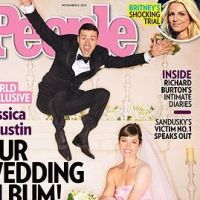 Justin Timberlake et Jessica Biel : leur photo ratée de mariage (PHOTO)