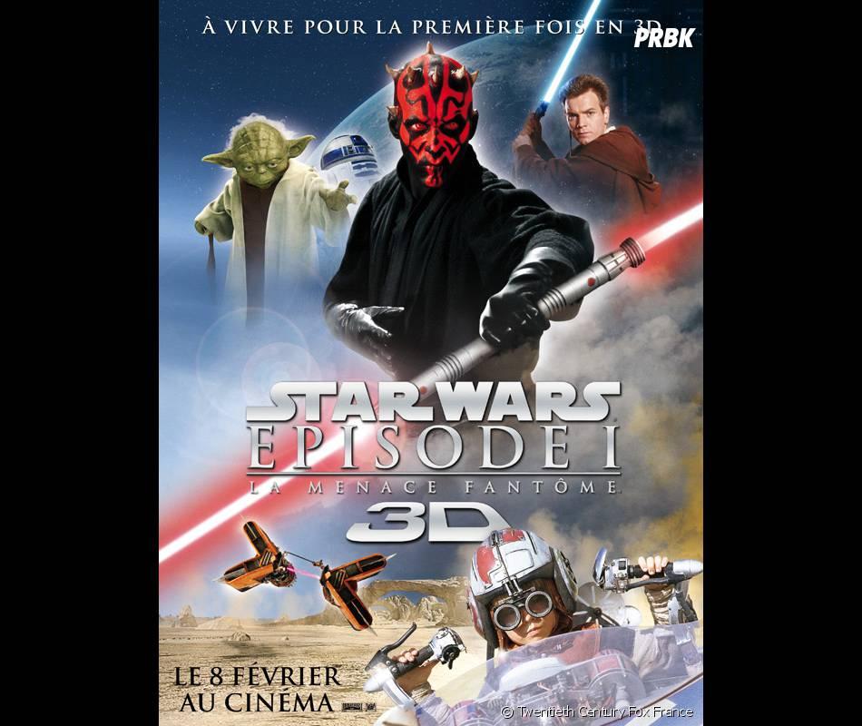 Star Wars continue de sortie en 3D !