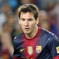 Messi : sa dédicace à Thiago sur le terrain ! (PHOTO)