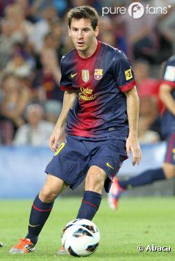 Lionel Messi est fier d'être papa !