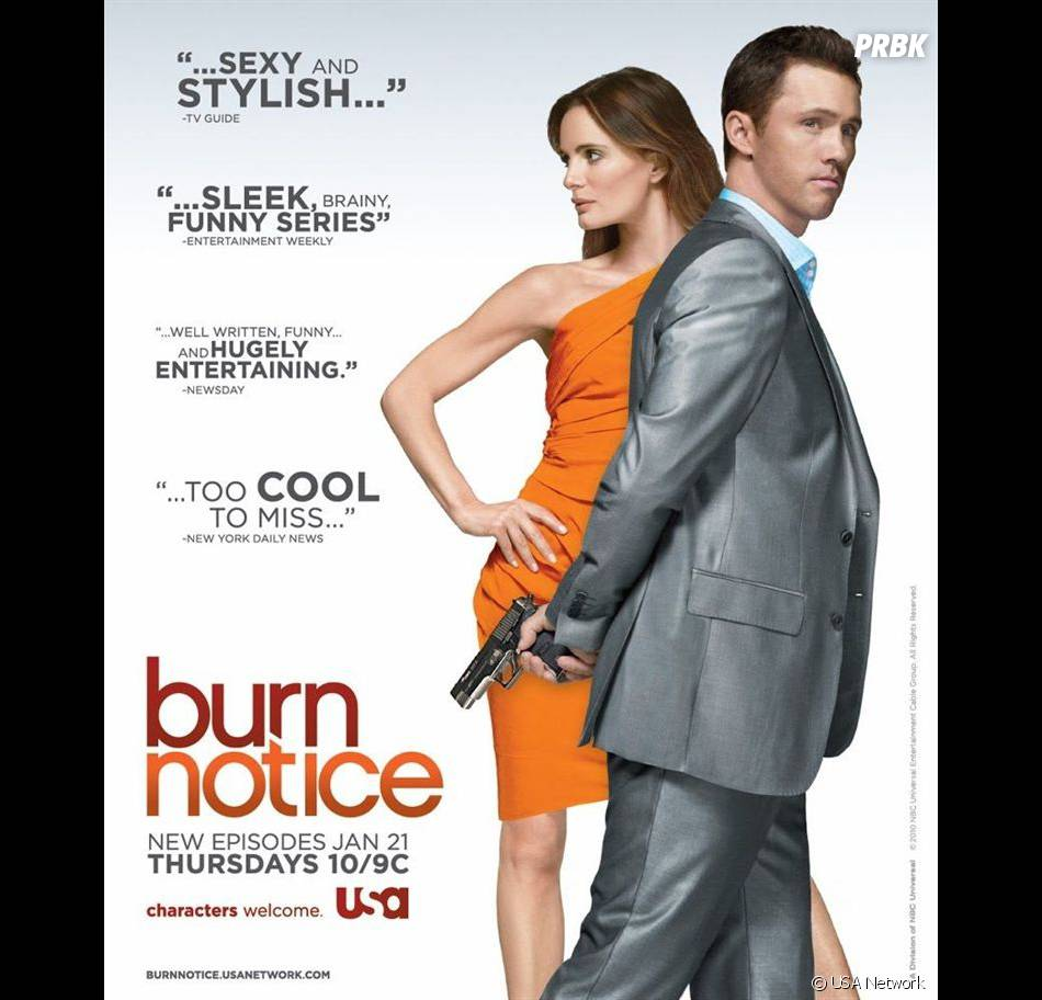 Burn Notice revient le 8 novembre sur USA Network