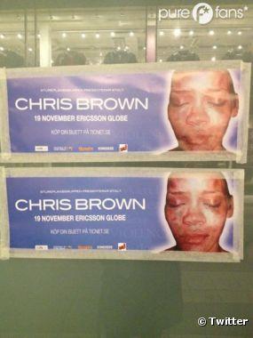 Chris Brown s'est fait boycotter en Suède !