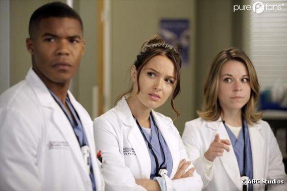 Les internes au centre d'un épisode dans la saison 9 de Grey's Anatomy