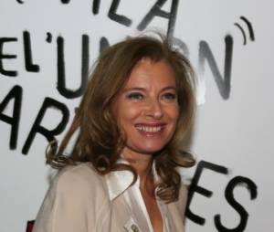 Valérie Trierweiler a retrouvé le sourire !