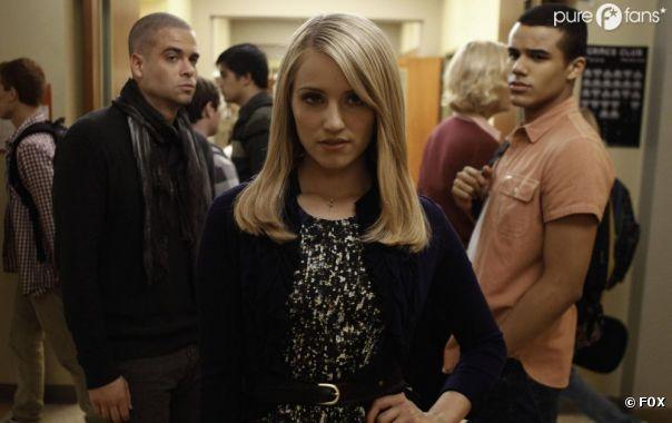 Quinn revient dans Glee et fait tourner les têtes des Puckerman !