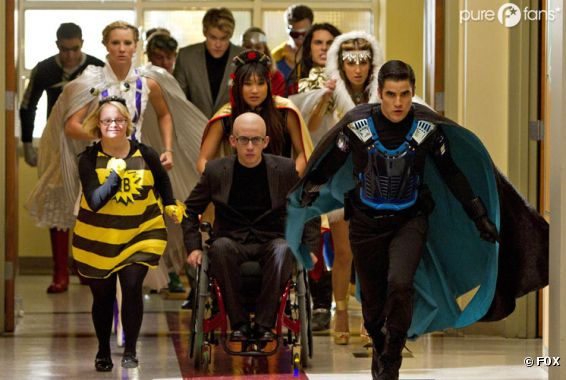 Un épisode qui détonne dans Glee !