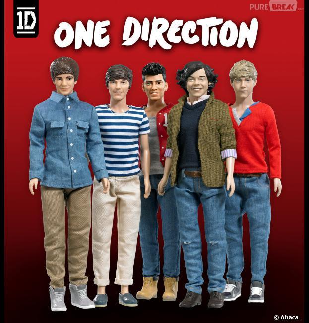 One Direction : Totalement fans de leurs poupées !