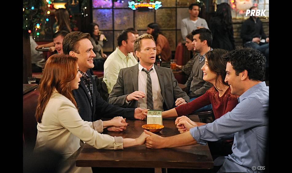 Barney semble choqué dans l'épisode de Noël d'How I Met Your Mother
