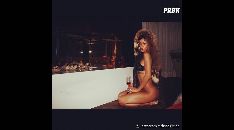 Rihanna n'a pas peur de se dénuder !