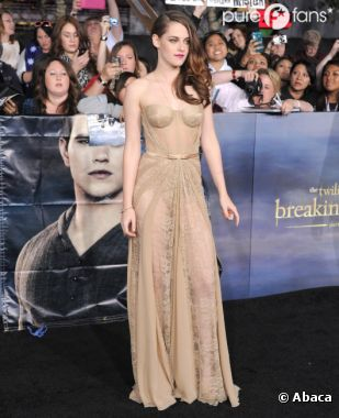 Kristen Stewart a le coeur sur la main !