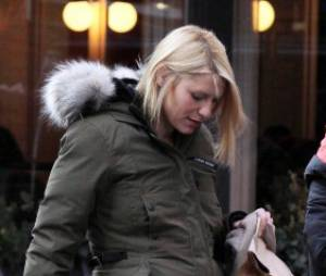 Claire Danes le 14 décembre 2012 à New York