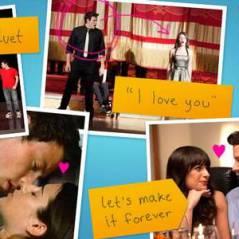 Glee saison 4 : des posters 100% Finchel et Klaine !