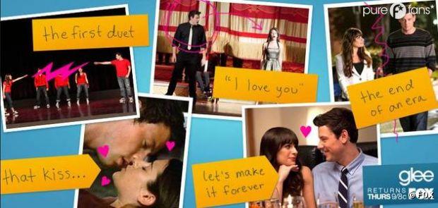 Un poster 100% Finchel pour la saison 4 de Glee