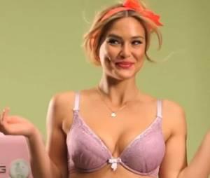 Bar Refaeli se la joue pin-up dans la dernière campagne Passionata !
