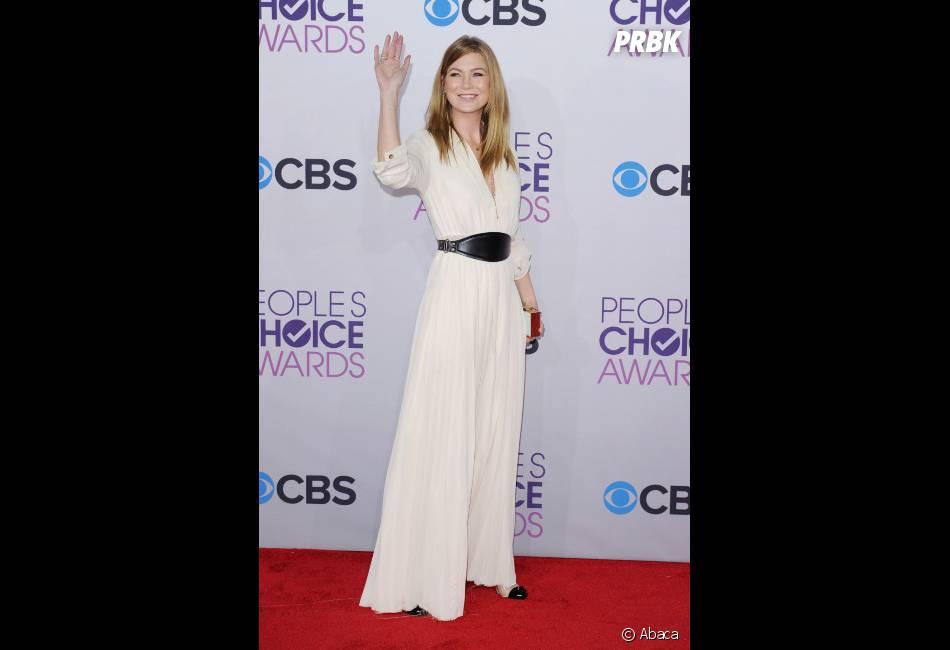 Ellen Pompeo représentait Grey's Anatomy aux People's Choice Awards