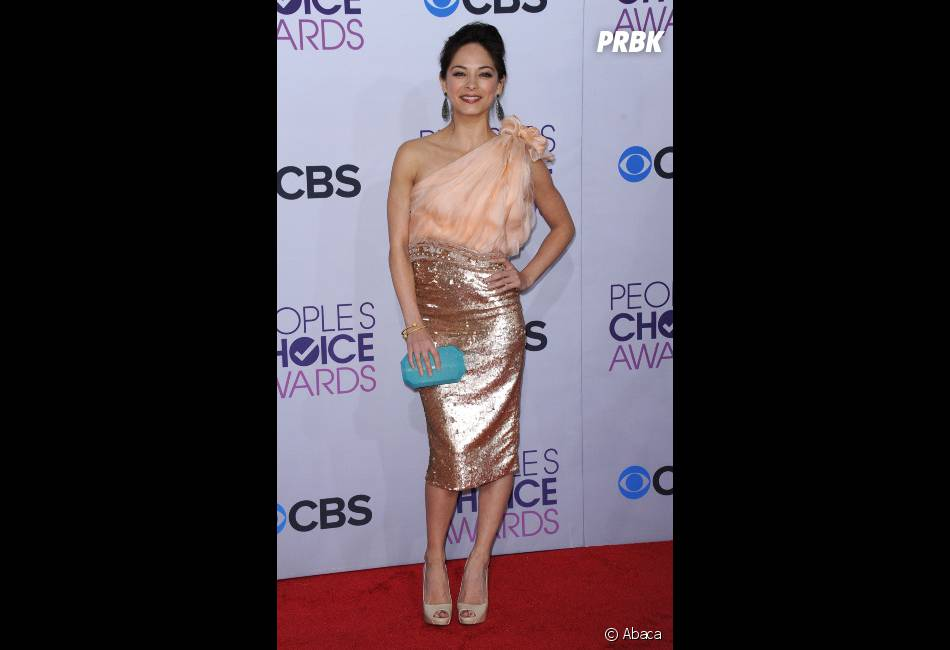Kristin Kreuk, prix de la meilleure nouvelle série dramatique aux People's Choice Awards