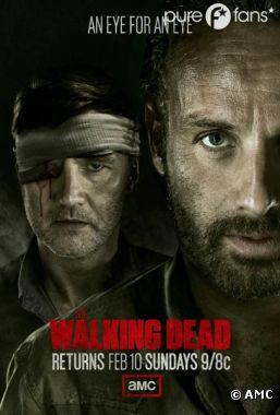 Nouveau poster de la saison 3 de Walking Dead