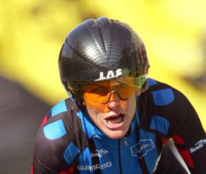 Lance Armstrong n'est jamais décontenancé par les questions d'Oprah Winfrey.