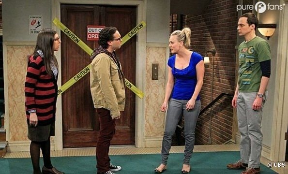 Un couple en danger dans The Big Bang Theory