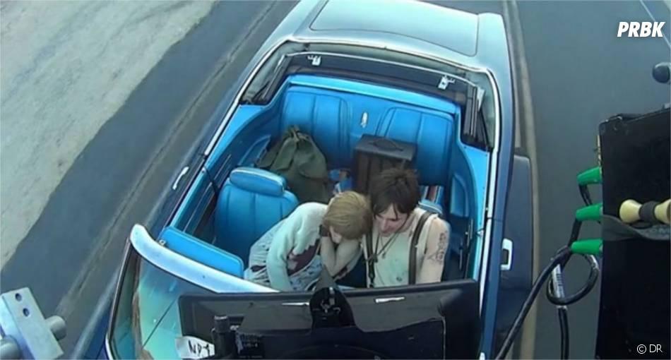 Taylor Swift et son partenaire sur le tournage de I Knew You Were Trouble