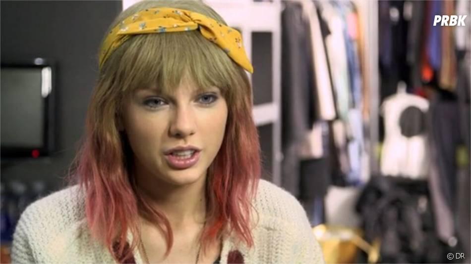 Taylor Swift sur le tournage de son clip