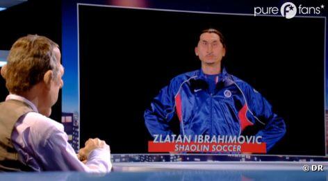 Ibrahimovic rencontre son guignol