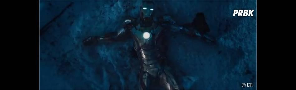 Iron Man dans une mauvaise posture