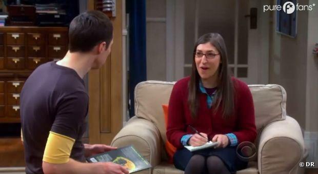 Amy va faire une étrange déclaration à Sheldon dans The Big Bang Theory
