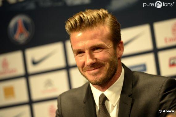 David Beckham a été bien accueilli par Virginie Caprice