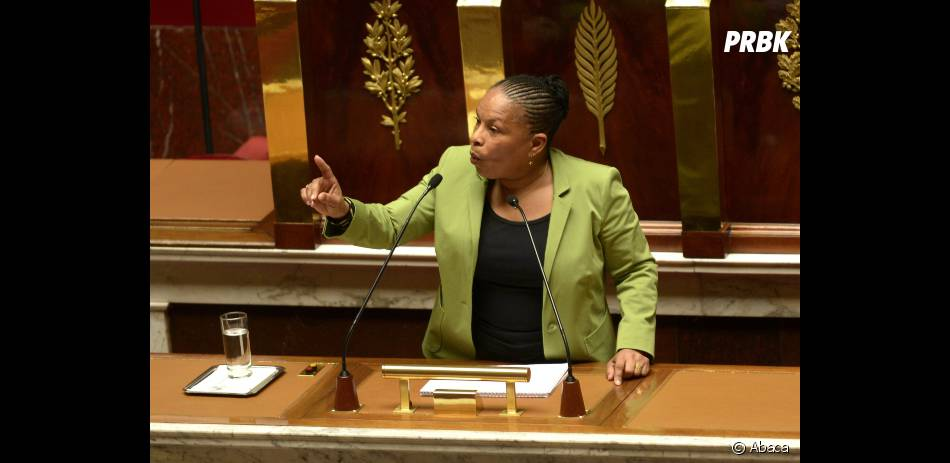 Christiane Taubira saluée pour ses talents d'oratrice druant ses dix jours, a conclu le vote par un discours plein de poésie.