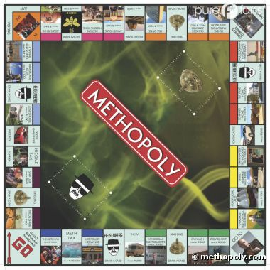 Methopoly, le nouveau Monopoly made in Breaking Bad
