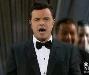 La Boobs Song de Seth MacFarlane chantée lors des Oscars 2013 a fait polémique.