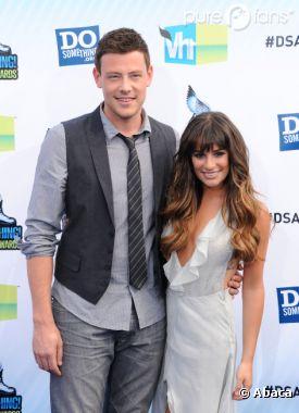 Lea Michele et Cory Monteith ensemble grâce à Glee