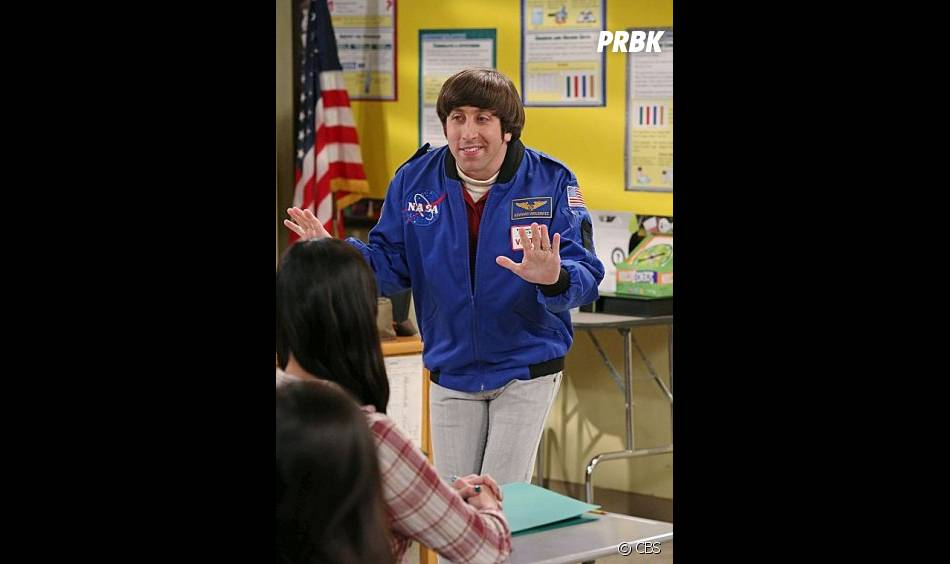 Howard va se vanter de son expérience d'astronaute dans The Big Bang Theory